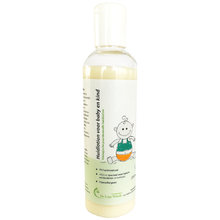 Horsemilk skin lotion for babies and toddlers